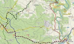 mapa zlatá koruna