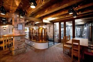Pivovarská restaurace, přízemí